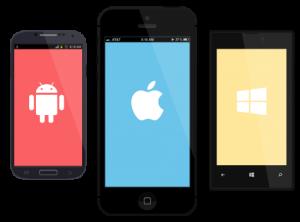 ساخت اپلیکیشن موبایل توسط شرکت جنگل