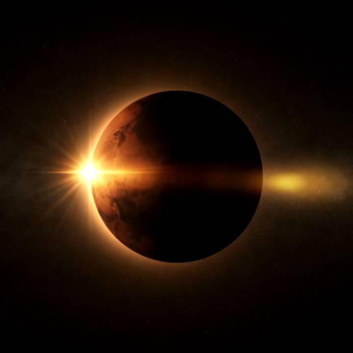 خورشید گرفتگی مریخ