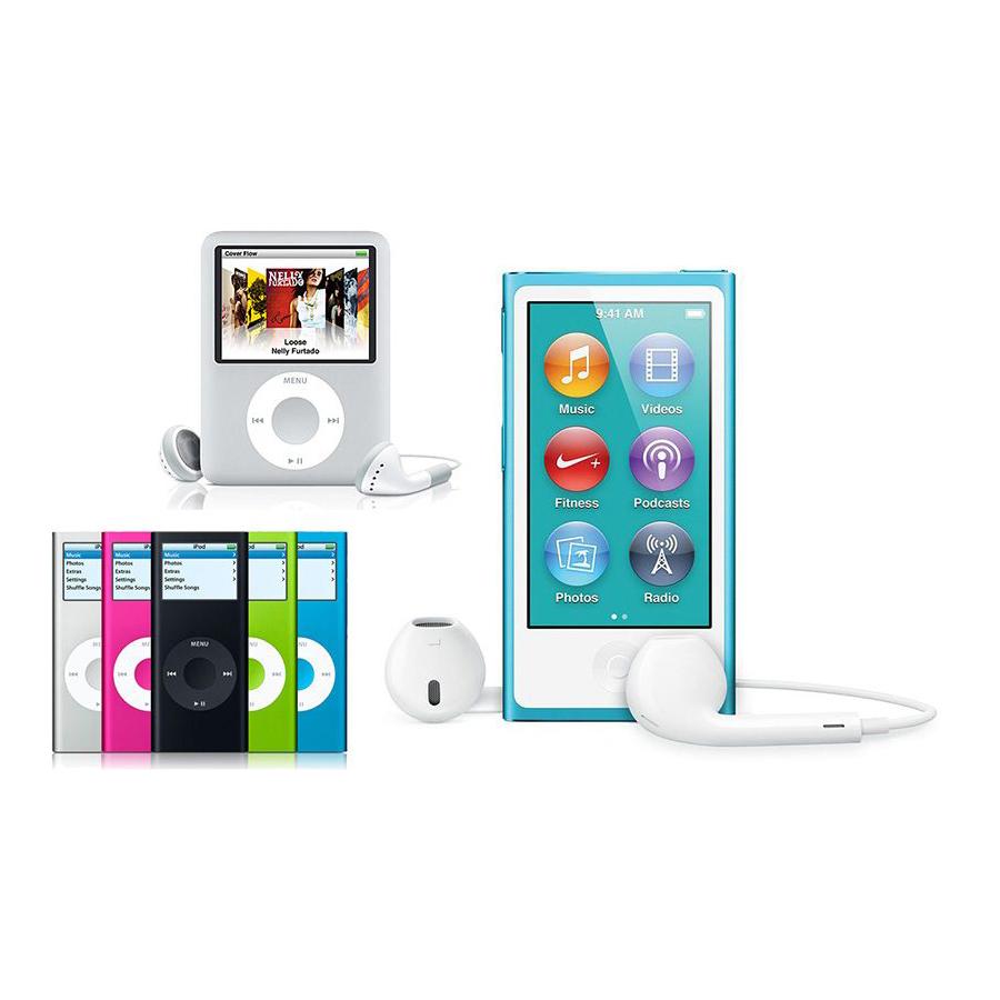 آیپاد نانو و آیپاد شافل